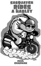Sasquatch Rides a Harley
